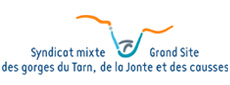 Logo -	Syndicat Mixte GRand Site des Gorges du Tarn, de la Jonte et des Causses