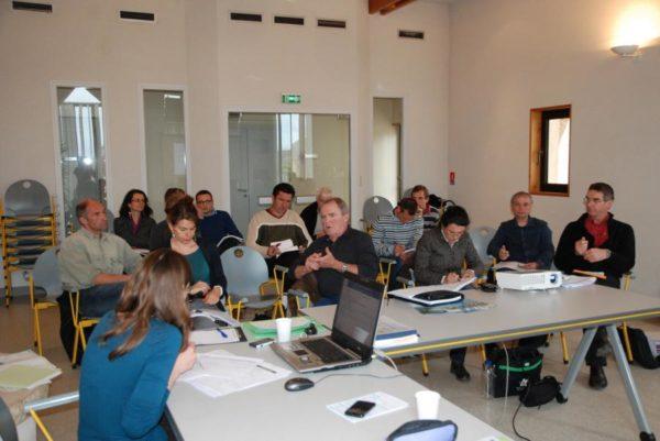 """Commission thématique """"aménagement du territoire"""" - 19 avril 2013 au Massegros"""