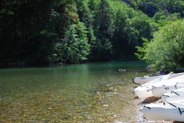 Le Tarn - Activité canoë (source : SMGS)